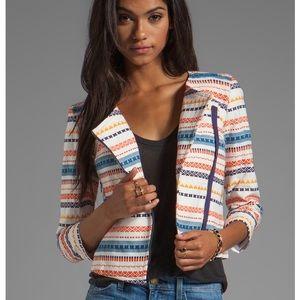NWOT Trina Turk Aztec Blazer Jacket